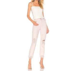 Lovers + Friends Logan High Rise Tapered Jeans 26